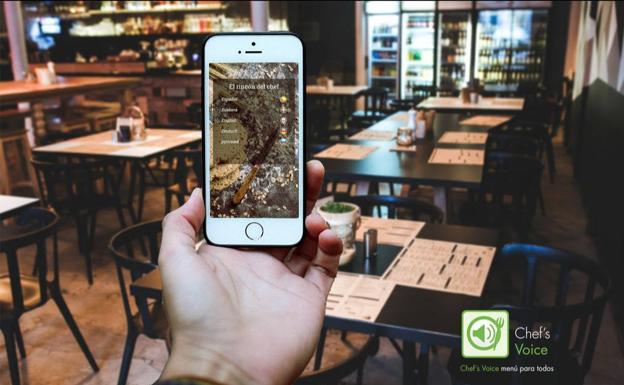 Chef's Voice, la solución accesible e higiénica para los restaurantes