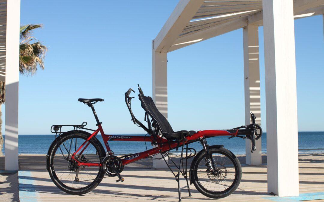 Probando la bici tandem PINO de HASEBIKES