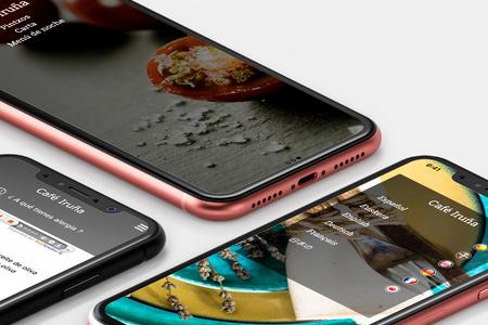 telefonos moviles con la applicacion chefs voice de Puntodis
