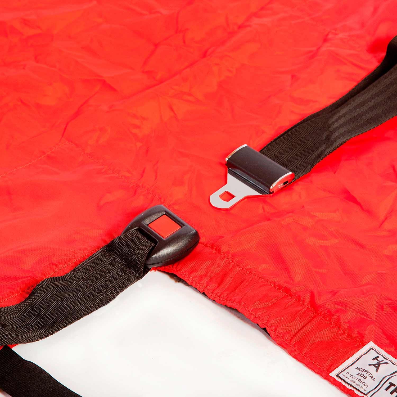 Detalle cinturón de fijación del SkiSheet