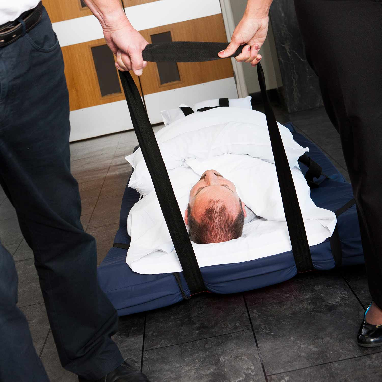 Evacuación horizontal con el SkiSheet