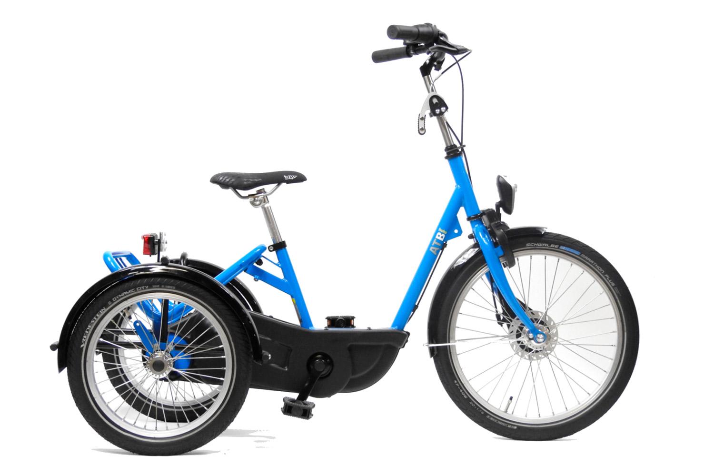 Imagen del AT triciclo de HUKA en azul fuerte