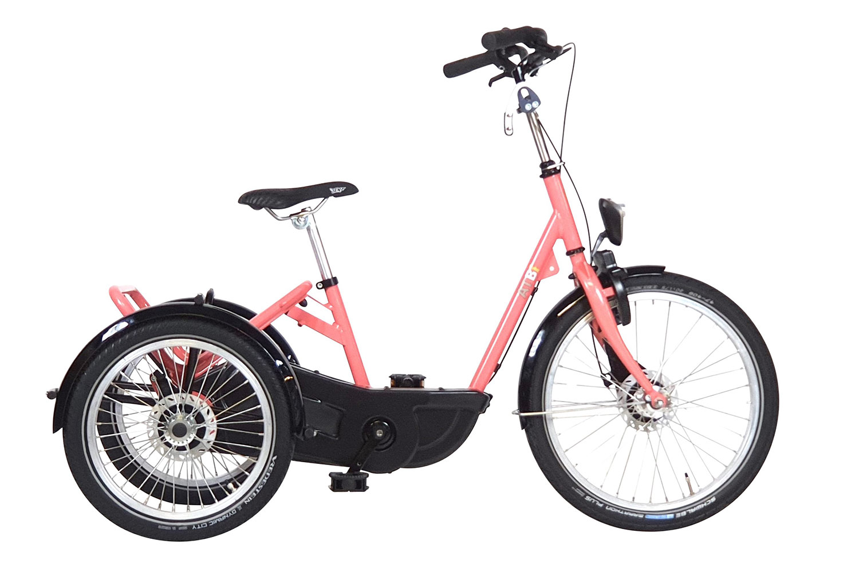 Imagen del AT triciclo de HUKA en rosa