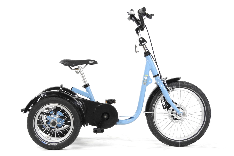 Imagen del AT triciclo de HUKA en azul