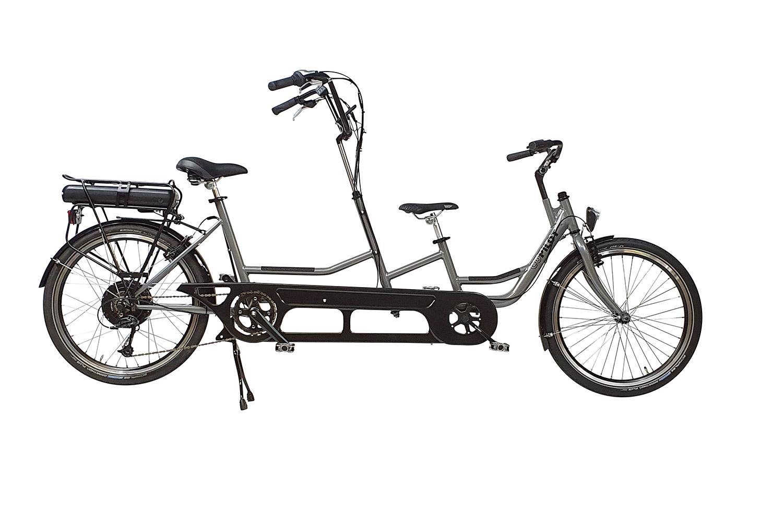 Bicicleta tandem Co-Pilot para niños