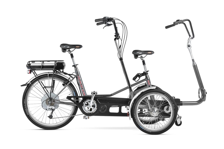 Tandem triciclo Co-Pilot 3 de HUKA