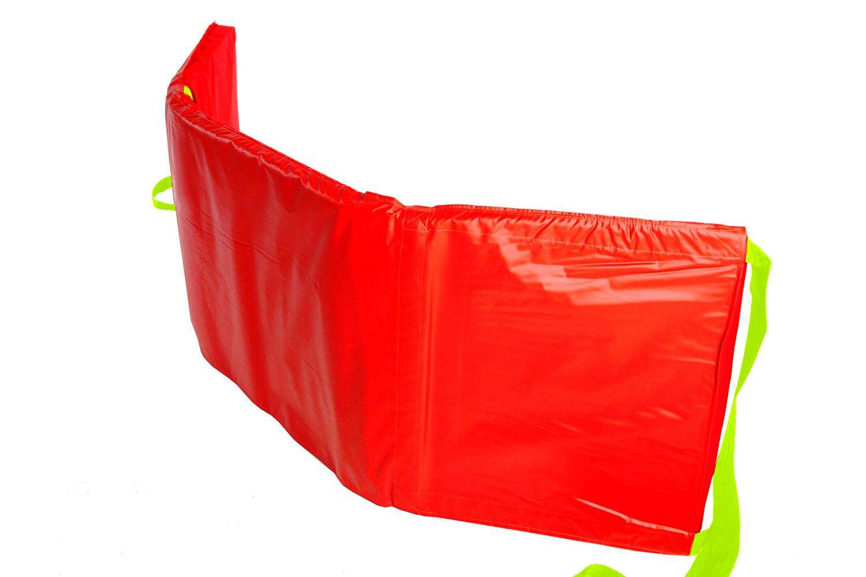 SkiPad colchon de evacuación abierto