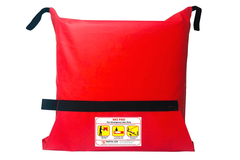 Ski-Pad, colchón de evacuación en bolsopara espacio estrechos
