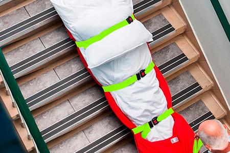 Cinturones de seguridad del colchon SkiPad