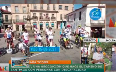 Discamino en el programa Murcia Conecta.