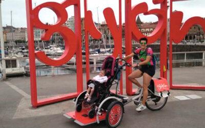 La Voz de Asturias: «De Amorebieta a Gijón solo por las bicis adaptadas»